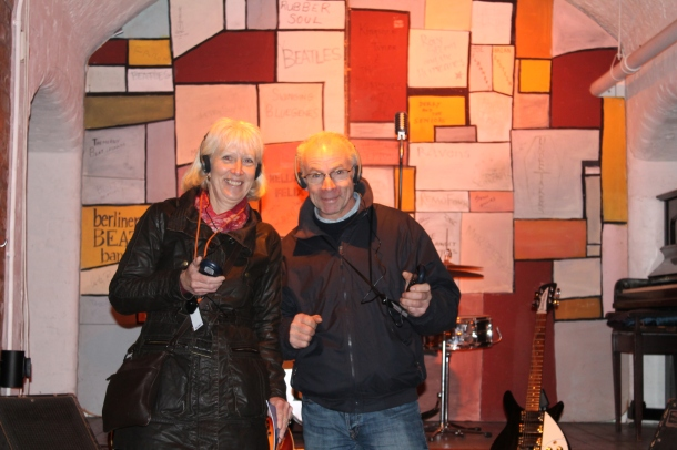 Mum and Dad enjoying The Cavern!