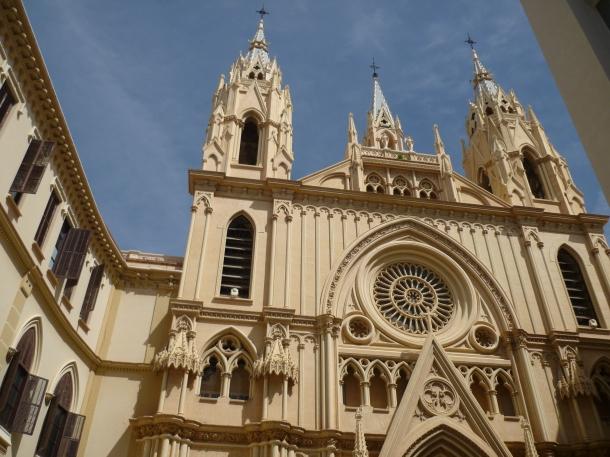 Malaga church