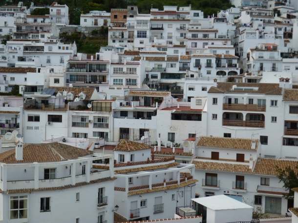 The white houses of Mijas