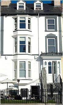 The exterior of the Gwesty Cymru hotel