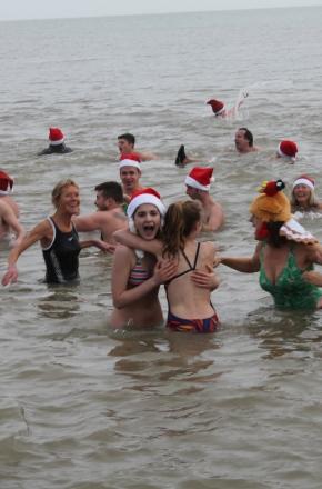 Madness on Aldeburghbeach